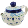 19 oz Stoneware Tea Pot with Sifter - Polmedia Polish Pottery H1047L