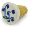 2-inch Stoneware Bottle Stopper - Polmedia Polish Pottery H0215G