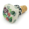 2-inch Stoneware Bottle Stopper - Polmedia Polish Pottery H1802I