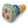 2-inch Stoneware Bottle Stopper - Polmedia Polish Pottery H2873I