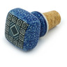 2-inch Stoneware Bottle Stopper - Polmedia Polish Pottery H4607I