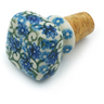 2-inch Stoneware Bottle Stopper - Polmedia Polish Pottery H4612I