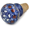 2-inch Stoneware Bottle Stopper - Polmedia Polish Pottery H6060B