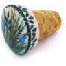 2-inch Stoneware Bottle Stopper - Polmedia Polish Pottery H6060G