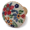 2-inch Stoneware Bottle Stopper - Polmedia Polish Pottery H6755K