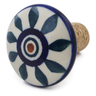 2-inch Stoneware Bottle Stopper - Polmedia Polish Pottery H6816K