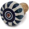 2-inch Stoneware Bottle Stopper - Polmedia Polish Pottery H6817K