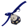 2-inch Stoneware Dog Ornament - Polmedia Polish Pottery H2882K