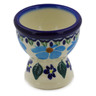 2-inch Stoneware Egg Holder - Polmedia Polish Pottery H0139K