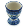 2-inch Stoneware Egg Holder - Polmedia Polish Pottery H3033B