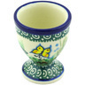 2-inch Stoneware Egg Holder - Polmedia Polish Pottery H4462G