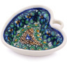 2-inch Stoneware Mini Heart Bowl - Polmedia Polish Pottery H6325G