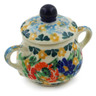 2-inch Stoneware Mini Sugar Bowl - Polmedia Polish Pottery H7943J