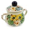 2-inch Stoneware Mini Sugar Bowl - Polmedia Polish Pottery H7945J