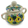 2-inch Stoneware Mini Sugar Bowl - Polmedia Polish Pottery H7946J