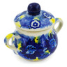 2-inch Stoneware Mini Sugar Bowl - Polmedia Polish Pottery H7947J