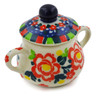 2-inch Stoneware Mini Sugar Bowl - Polmedia Polish Pottery H7949J