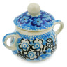 2-inch Stoneware Mini Sugar Bowl - Polmedia Polish Pottery H7952J