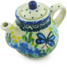 2-inch Stoneware Mini Tea Pot - Polmedia Polish Pottery H5317G