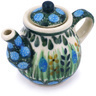 2-inch Stoneware Mini Tea Pot - Polmedia Polish Pottery H6053G