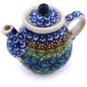 2-inch Stoneware Mini Tea Pot - Polmedia Polish Pottery H6564G