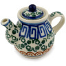 2-inch Stoneware Mini Tea Pot - Polmedia Polish Pottery H7199C