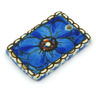 2-inch Stoneware Rectangle Pendant - Polmedia Polish Pottery H5099G