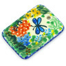 2-inch Stoneware Rectangle Pendant - Polmedia Polish Pottery H5305G