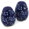 2-inch Stoneware Salt and Pepper Set - Polmedia Polish Pottery H2496K