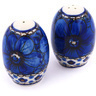 2-inch Stoneware Salt and Pepper Set - Polmedia Polish Pottery H5423G
