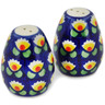2-inch Stoneware Salt and Pepper Set - Polmedia Polish Pottery H5469C