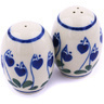 2-inch Stoneware Salt and Pepper Set - Polmedia Polish Pottery H6901G