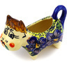 2 oz Stoneware Cow Shaped Creamer - Polmedia Polish Pottery H0935E