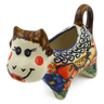 2 oz Stoneware Cow Shaped Creamer - Polmedia Polish Pottery H4905I