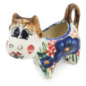 2 oz Stoneware Cow Shaped Creamer - Polmedia Polish Pottery H5480E