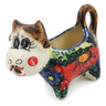2 oz Stoneware Cow Shaped Creamer - Polmedia Polish Pottery H6056K