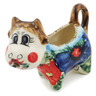 2 oz Stoneware Cow Shaped Creamer - Polmedia Polish Pottery H6057K