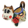 2 oz Stoneware Cow Shaped Creamer - Polmedia Polish Pottery H6058K