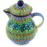 20 oz Stoneware Pitcher with Lid - Polmedia Polish Pottery H5240G