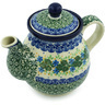 20 oz Stoneware Tea or Coffee Pot - Polmedia Polish Pottery H2732H