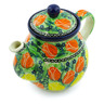 20 oz Stoneware Tea or Coffee Pot - Polmedia Polish Pottery H3171G