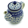 20 oz Stoneware Tea or Coffee Pot - Polmedia Polish Pottery H6290B