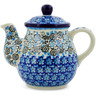 20 oz Stoneware Tea or Coffee Pot - Polmedia Polish Pottery H7559J