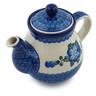 20 oz Stoneware Tea or Coffee Pot - Polmedia Polish Pottery H7678B