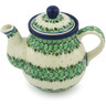 20 oz Stoneware Tea or Coffee Pot - Polmedia Polish Pottery H8894G