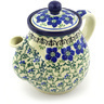 20 oz Stoneware Tea or Coffee Pot - Polmedia Polish Pottery H9609E