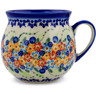 22 oz Stoneware Bubble Mug - Polmedia Polish Pottery H7208J