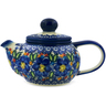 22 oz Stoneware Tea or Coffee Pot - Polmedia Polish Pottery H4393K