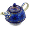 22 oz Stoneware Tea or Coffee Pot - Polmedia Polish Pottery H8574F