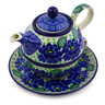 22 oz Stoneware Tea Set for One - Polmedia Polish Pottery H3818I